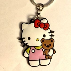 Hello Kitty Key Chain. Charm for Backpack & Bags